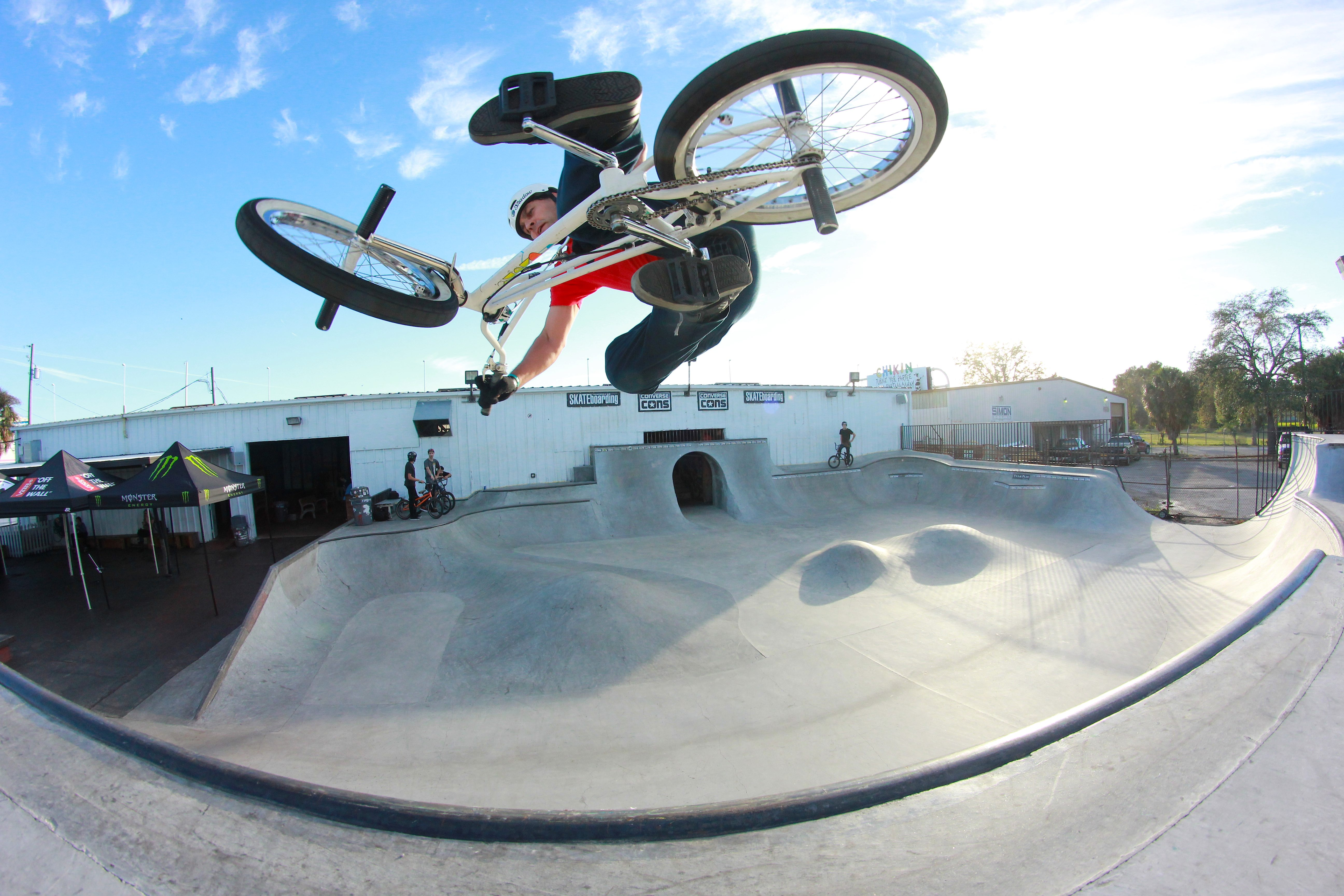 Terry Donley. 30+, well technically, 40+. Tabe on Friday on big cement.